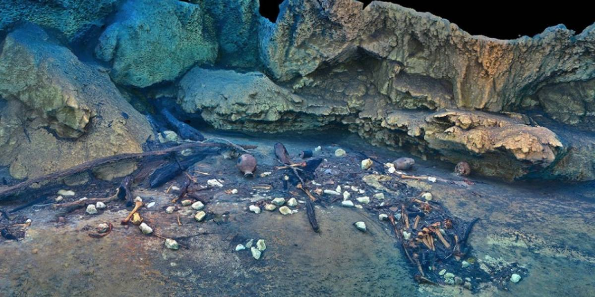 México: Encuentran restos de animales y humanos prehistóricos en el cenote Hoyo Negro