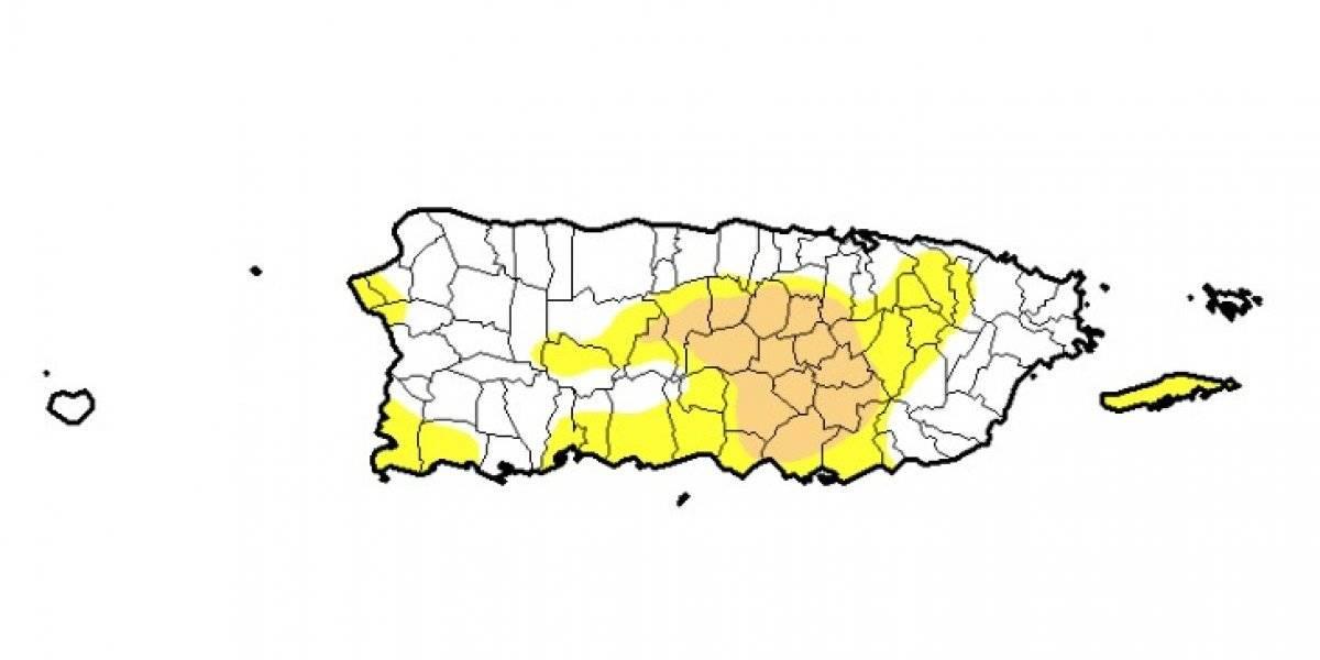 Refleja aumento sequía moderada por segunda semana