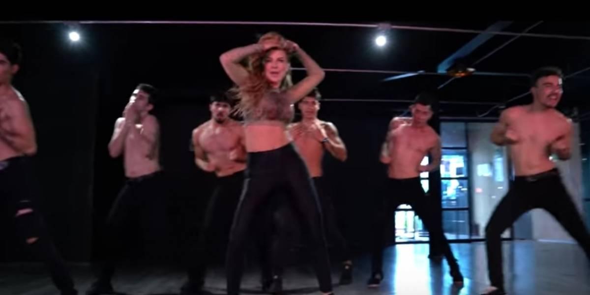 El video de la canción de Marjorie De Sousa
