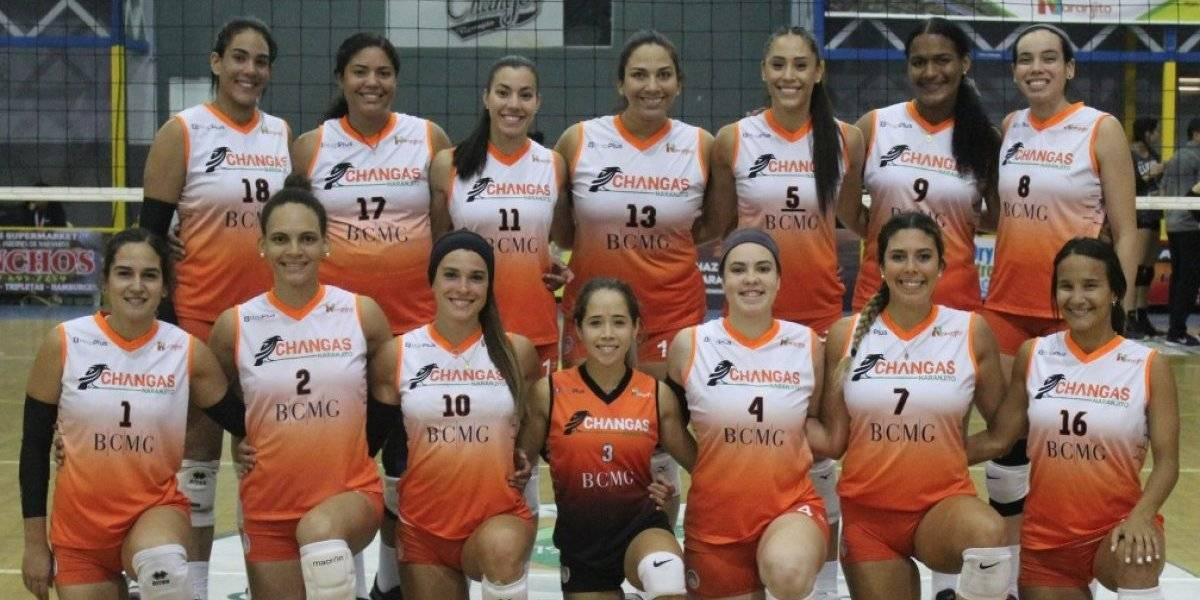 Changas y Criollas pasan a la final del Voleibol Superior Femenino