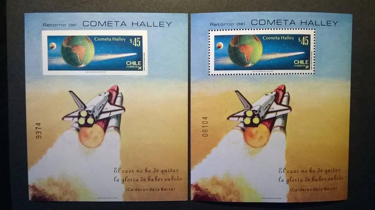 Cometa Halley Chile