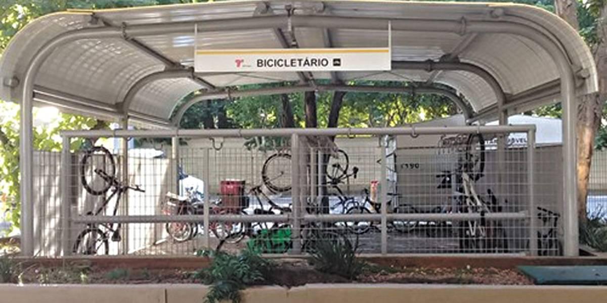 Bicicletário fechado chega a novo terminal em São Paulo