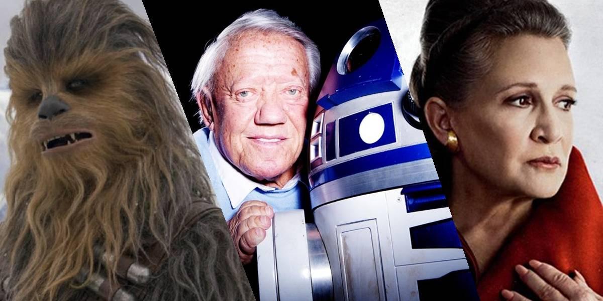 """El universo """"Star Wars"""" está de luto: recordamos a los actores que ya dejaron esta galaxia"""