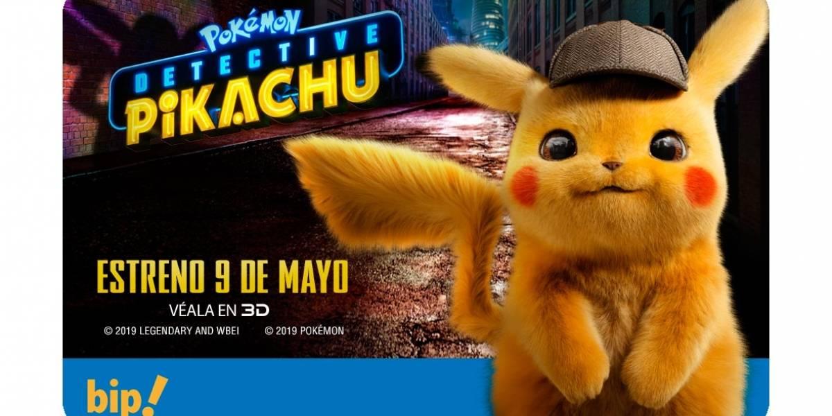 """¡Atención fanáticos de """"Pokémon""""!: """"Detective Pikachu"""" protagonizará edición especial de tarjetas Bip!"""