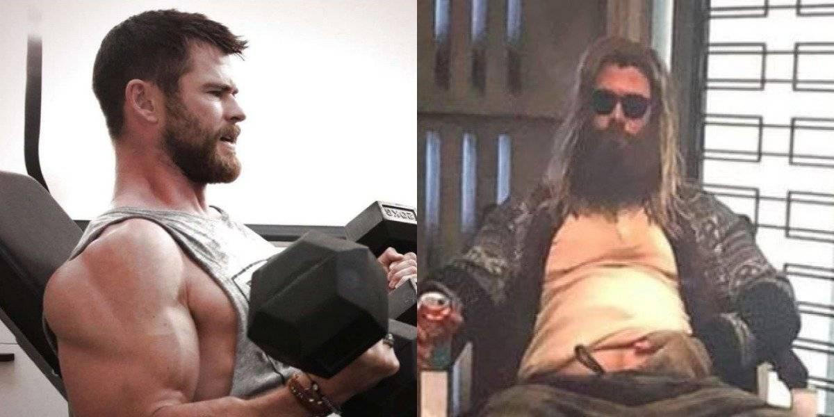 Avengers EndGame: ¿Por qué lo hicieron gordo a Thor?