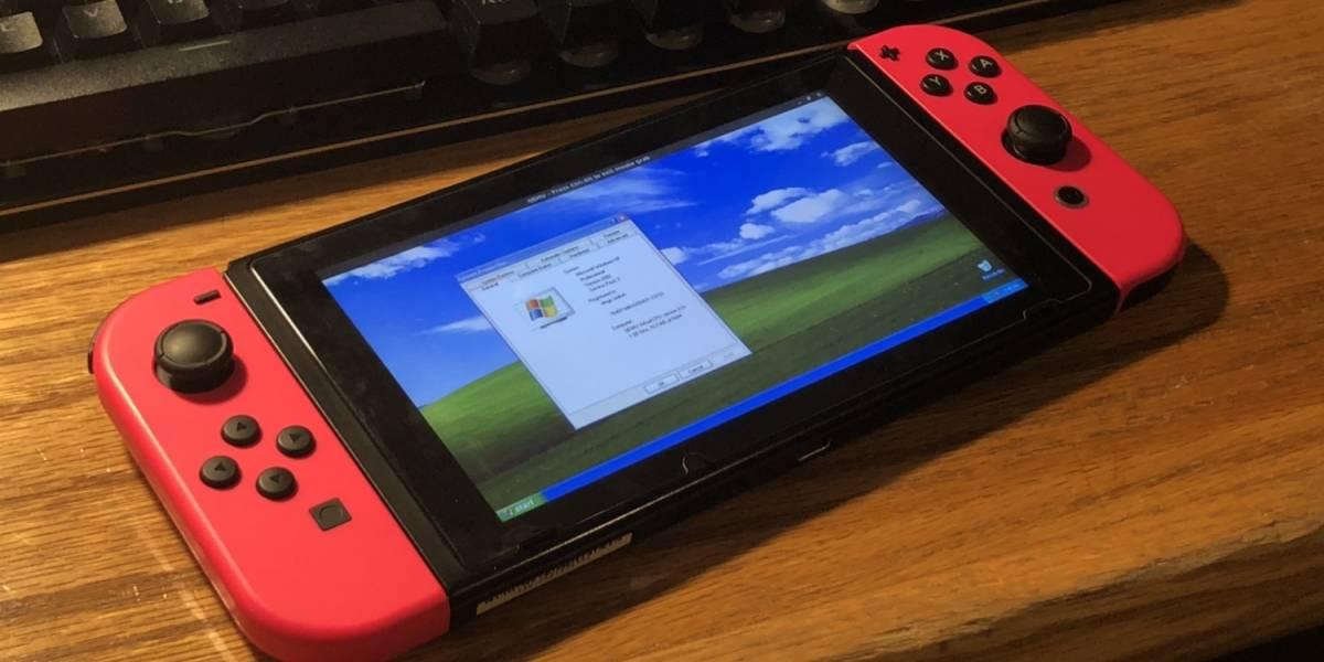 Un usuario instaló Windows XP en la Nintendo Switch para jugar Pinball 3D