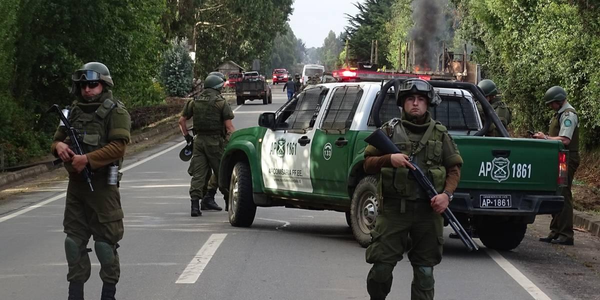Violencia contra bebés y niños: Corte Suprema confirma fallo contra Carabineros por violento desalojo de toma mapuche