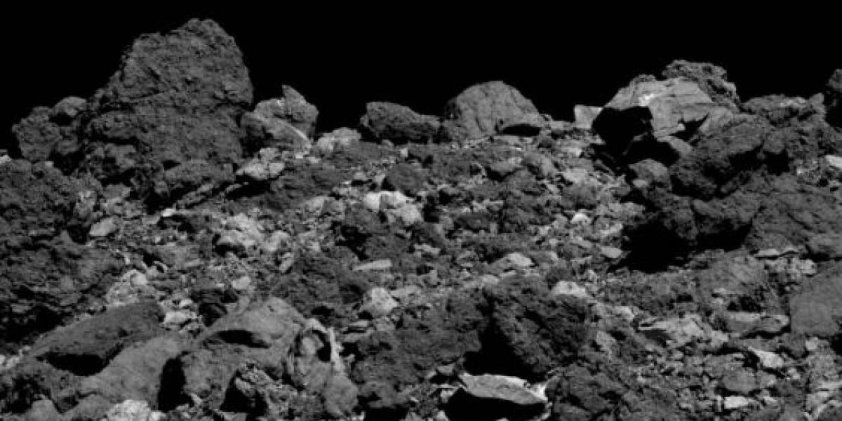 Em risco de colisão com a Terra, Sonda da NASA divulga registro inédito do gigantesco asteroide Bennu