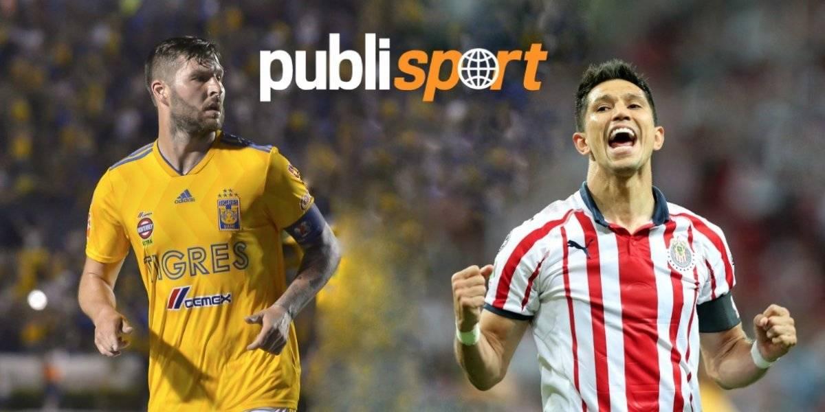 Tigres vs Chivas ¿Dónde y a qué hora ver el partido?