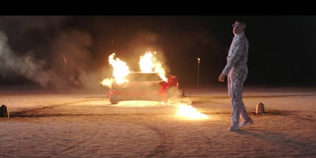 Niño murió al imitar video de Bad Bunny donde hay escenas con fuego