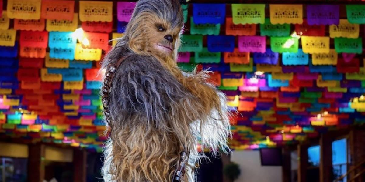 Recordemos la vez en la que Chewbacca visitó México
