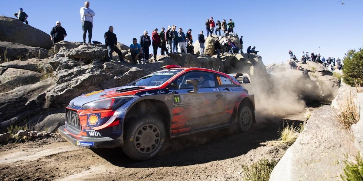 Las mejores fotos del líder del WRC ganando en Argentina