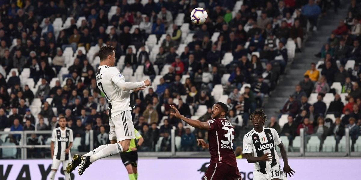 Cristiano Ronaldo rescata a la Juve en el derbi de Turín