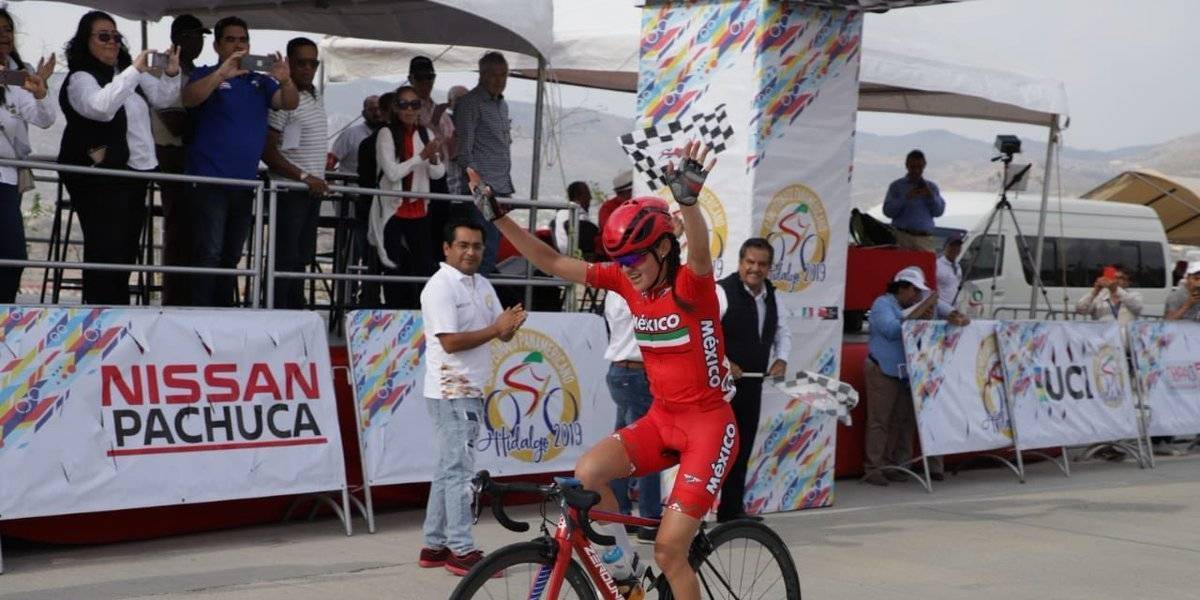 Ariadna Gutiérrez consigue medalla de oro en Panamericano de Ciclismo