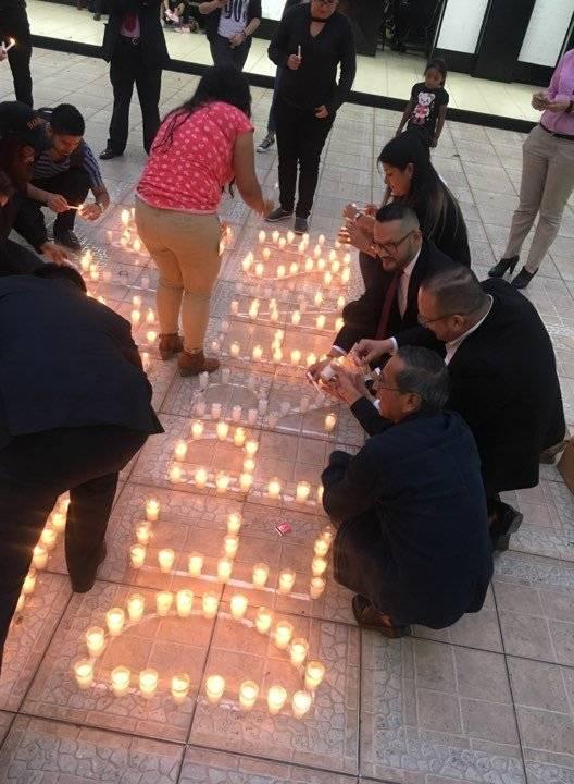 Conmemoran el Día Mundial de la Libertad de Prensa. Foto: Sergio Morataya