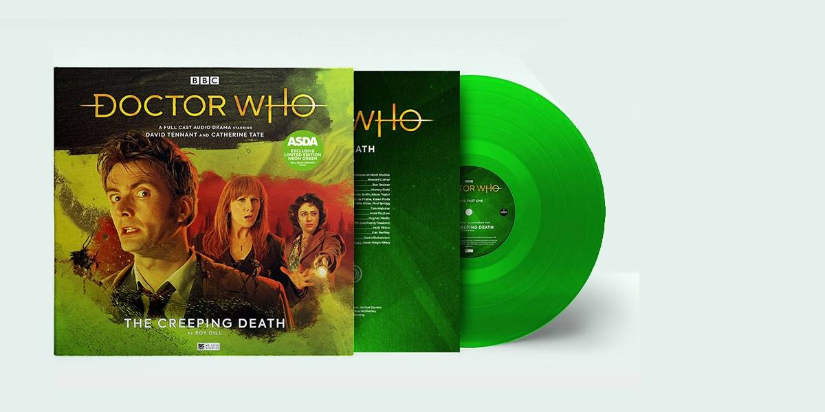 Doctor Who: The Creeping Death llegará en vinilo con David Tennant