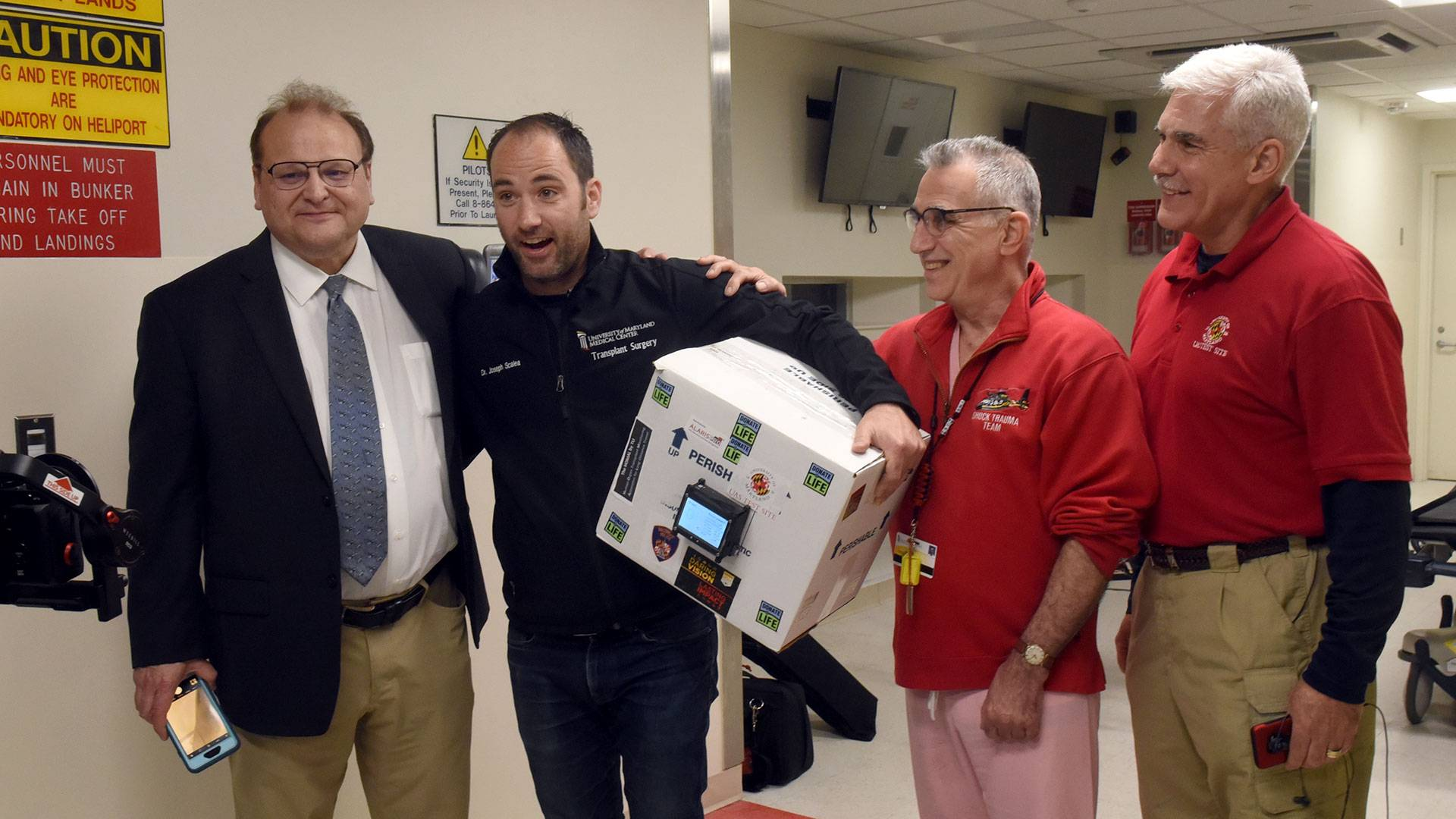 Por primera vez en la historia un dron fue capaz de entregar exitosamente un órgano para transplante