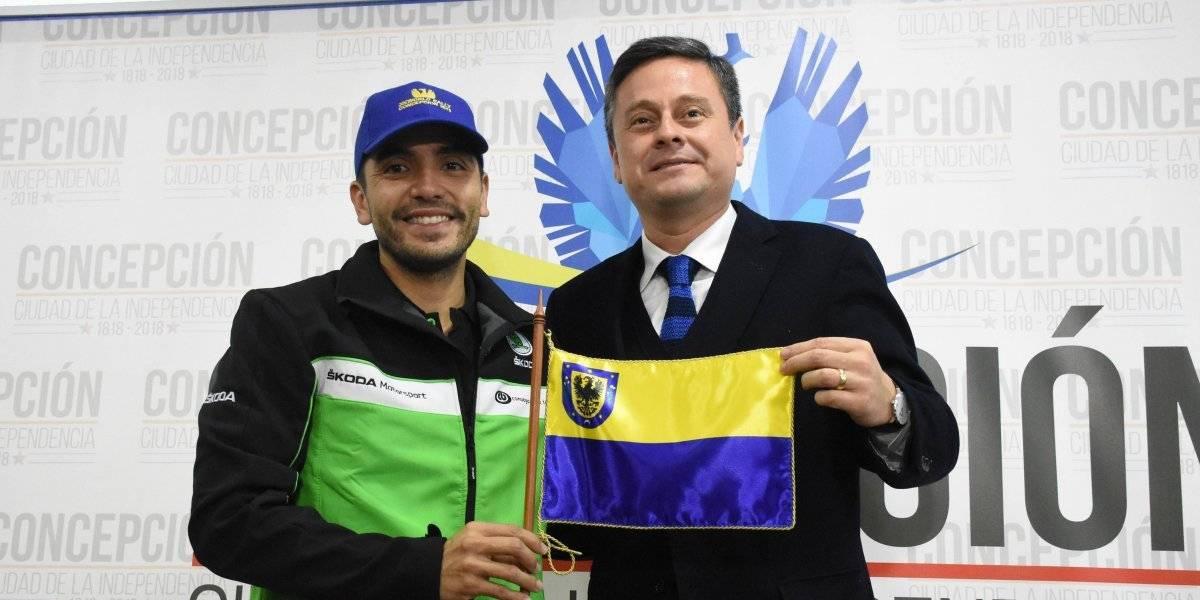 Jorge Martínez será el embajador deportivo de Concepción para el WRC en Chile