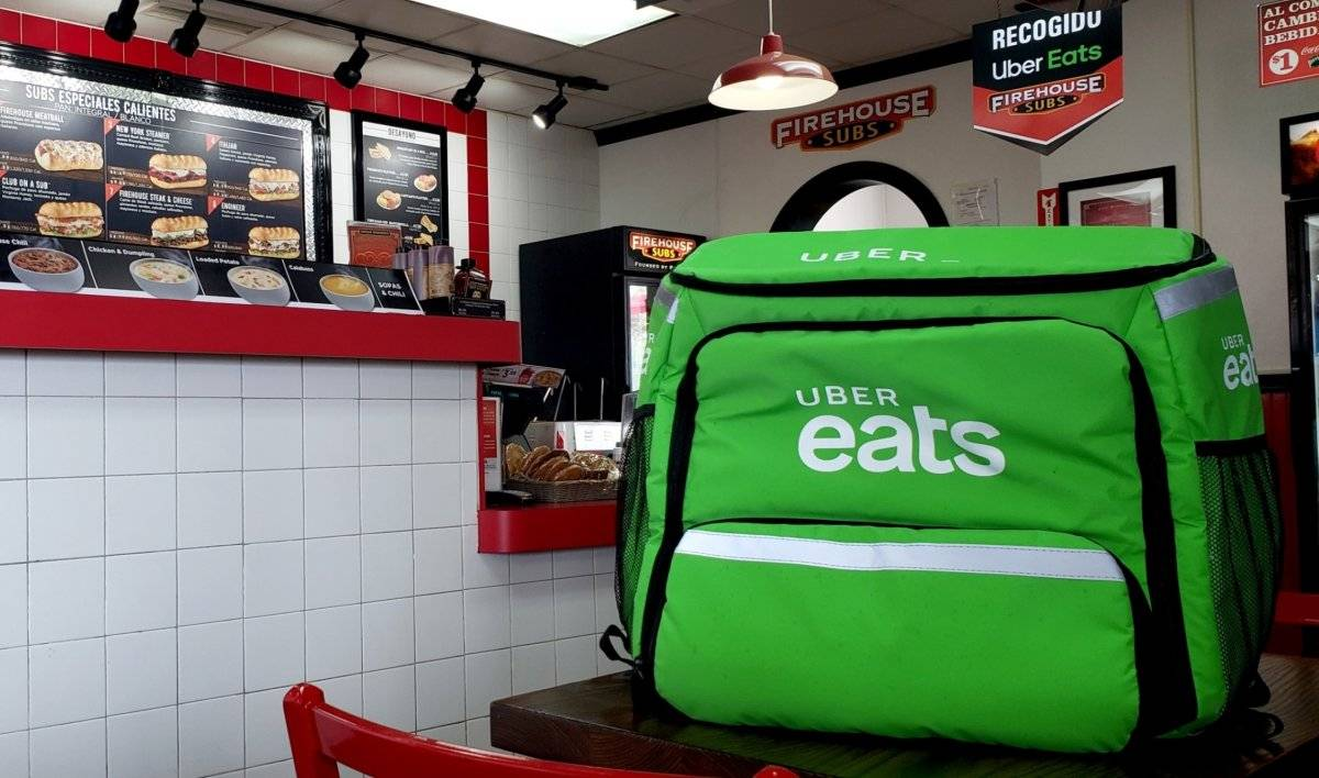 UberEats Firehouse Subs