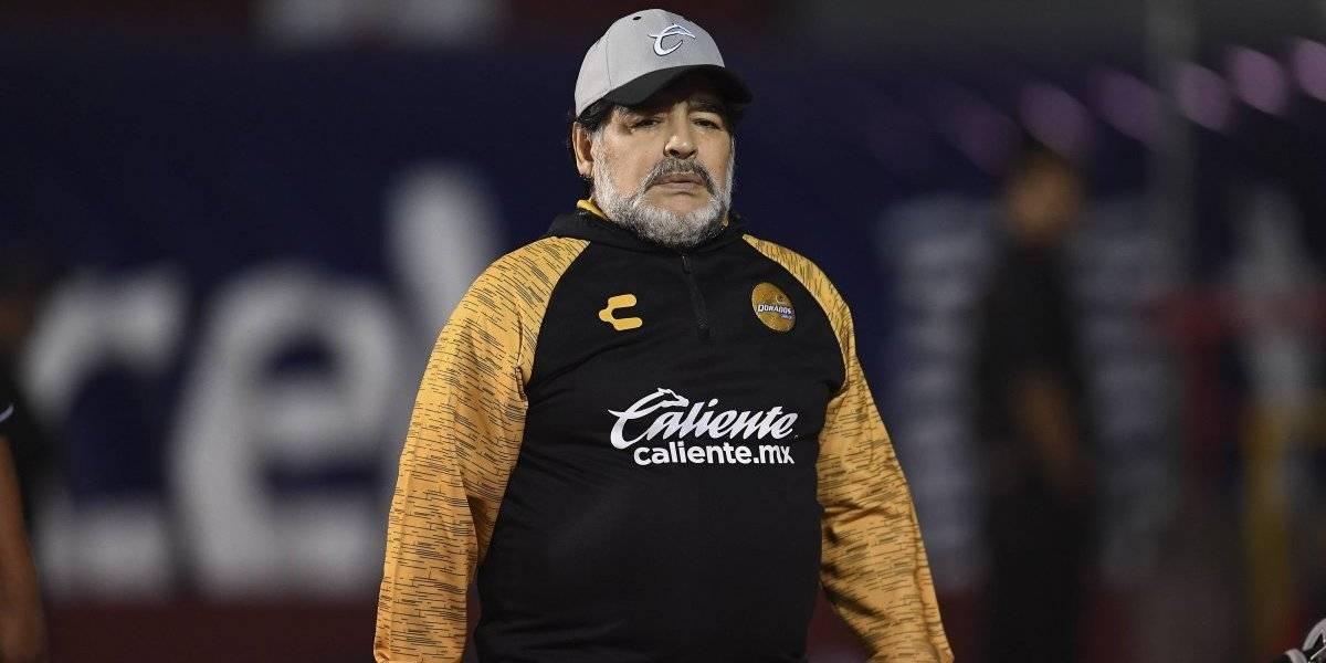 'Hay árbitros buenos y malos; este es malo', dice Maradona tras final