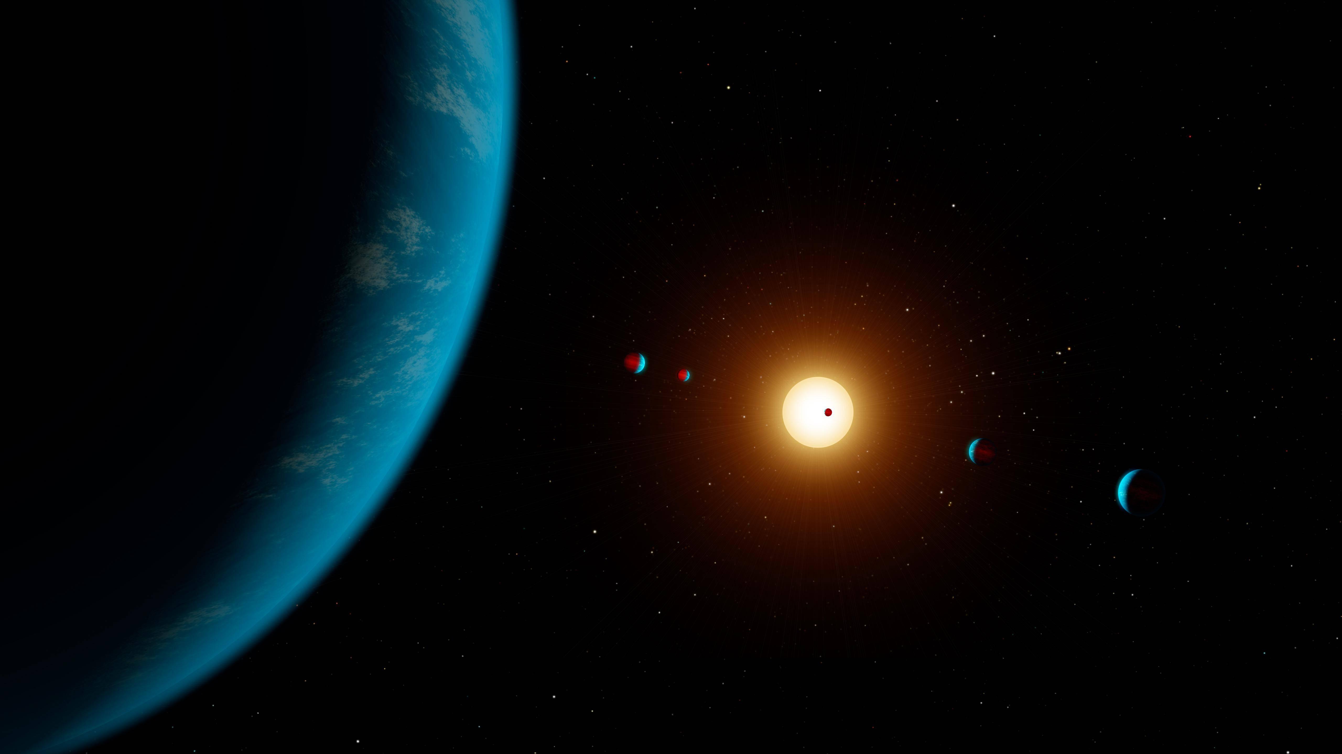 No existe posibilidad alguna de que planetas similares a la Tierra alberguen vida si orbitan estrellas muy jóvenes