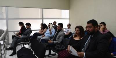 Roxana Baldetti en audiencia del caso RIC