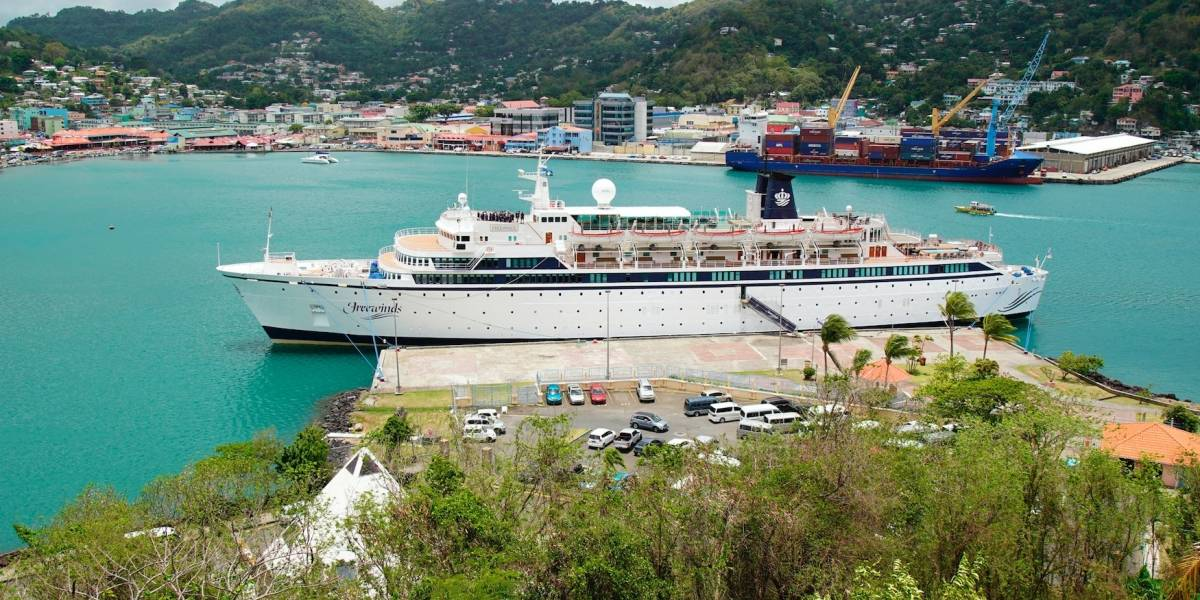 Crucero puesto en cuarentena por sarampión se dirige a Curazao