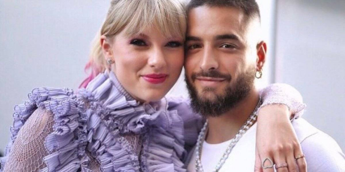Fans de Taylor Swift rechazan colaboración con Maluma