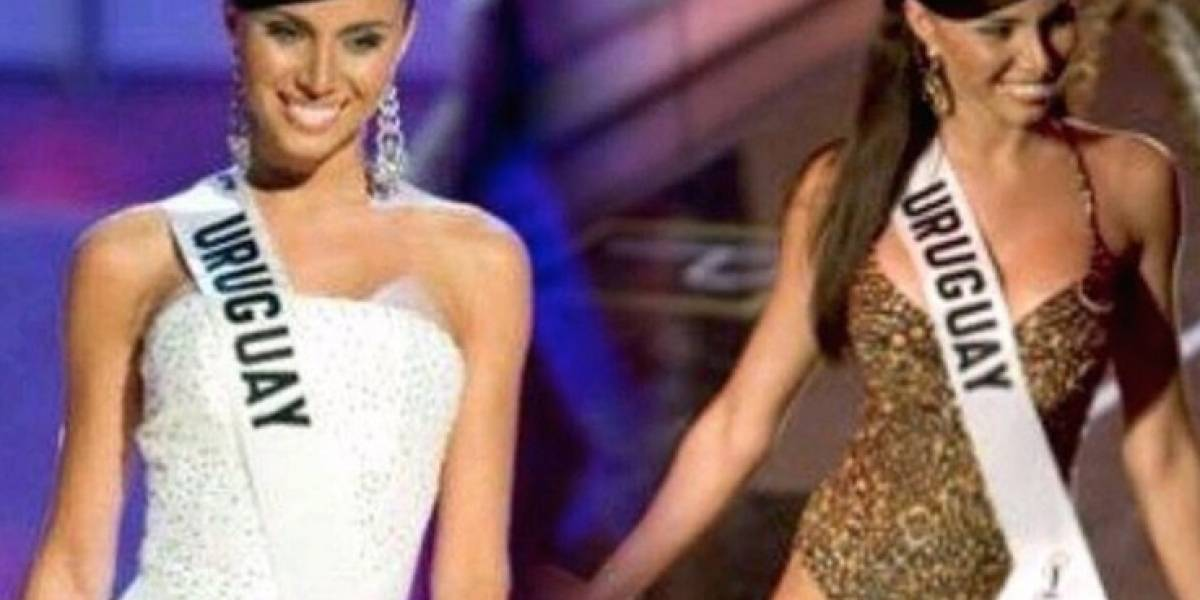 Hallan muerta a ex Miss Uruguay