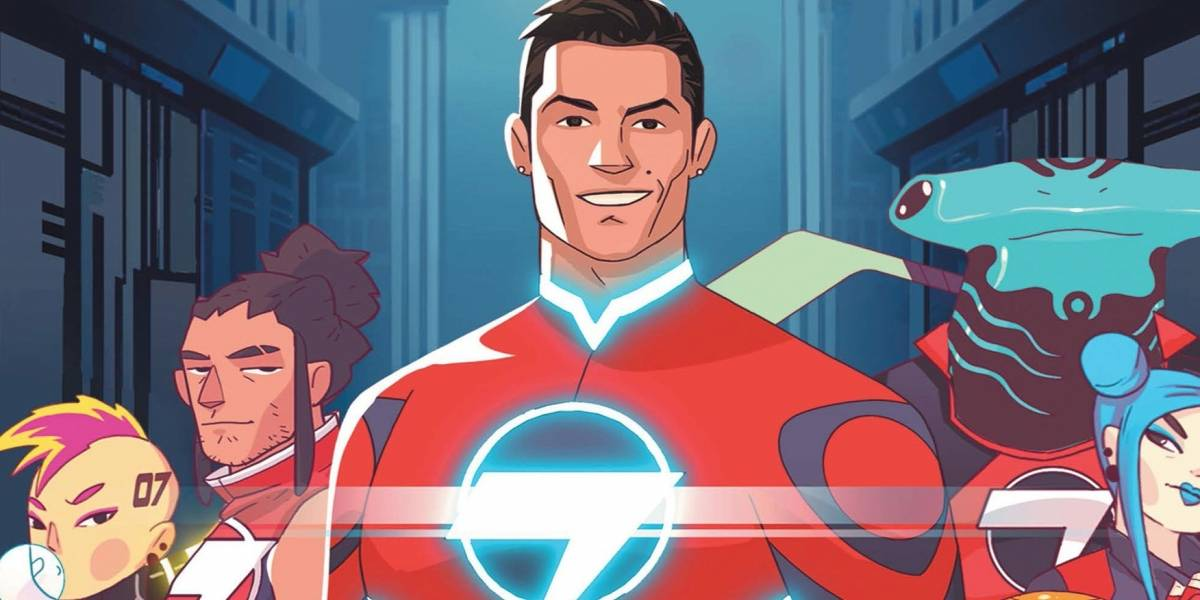 Cristiano Ronaldo vira super-herói de gibi na HQ Striker Force 7