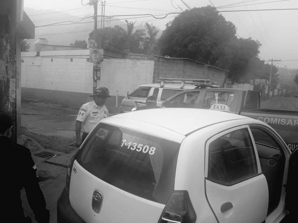 taxista herido de bala en Villa Canales