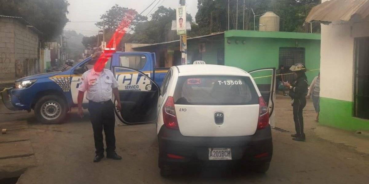 Hieren de bala a taxista en Villa Canales