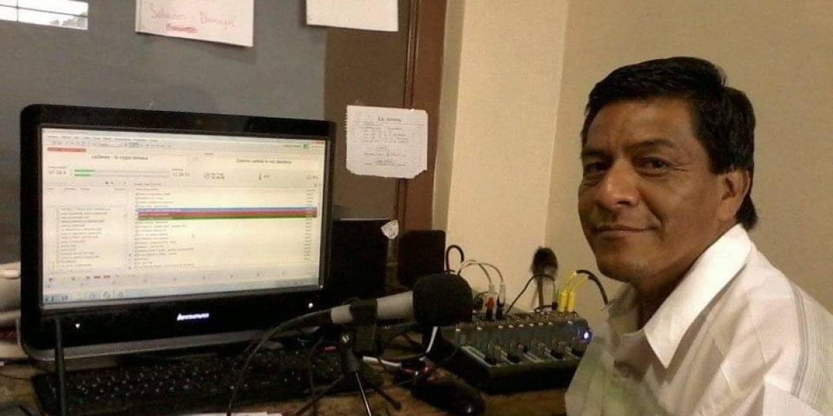 Asesinan al periodista Telésforo Santiago Enríquez en Oaxaca