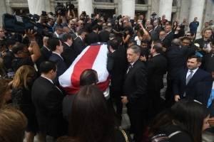funeral de RHC en El Capitolio