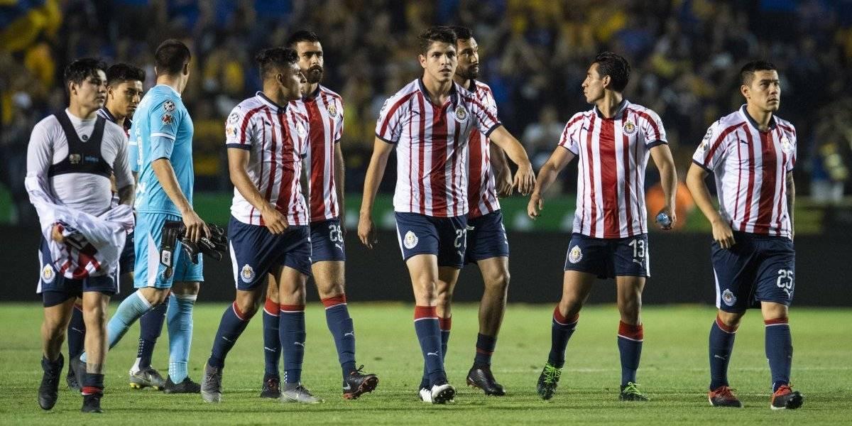 Chivas se despide del torneo con derrota ante Tigres