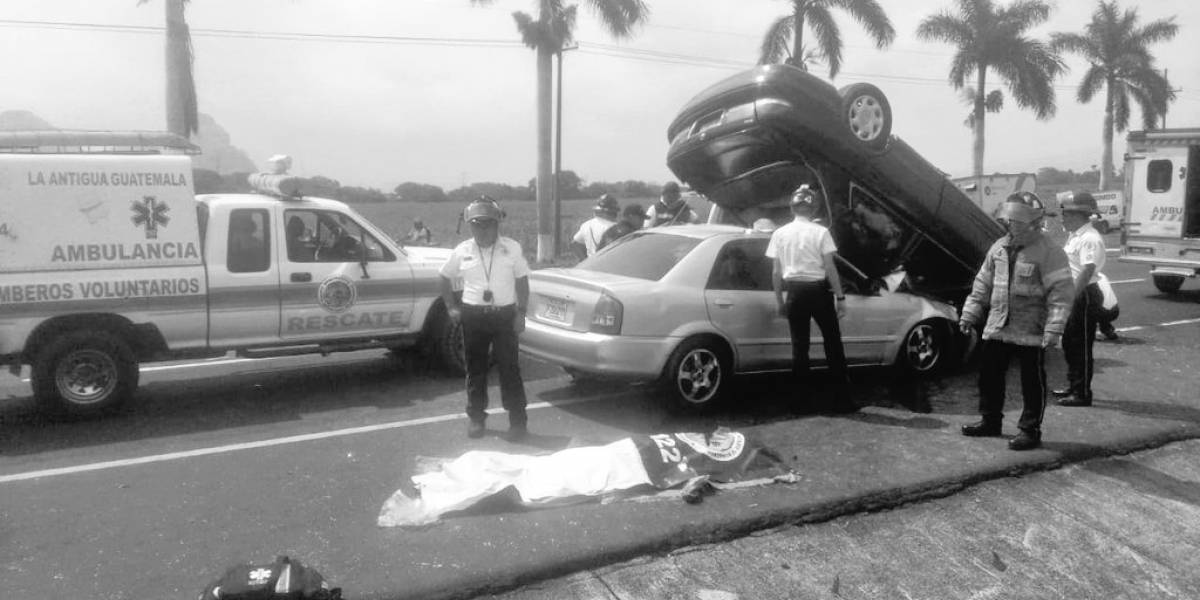 Un fallecido en accidente de tránsito en la ruta al Pacífico