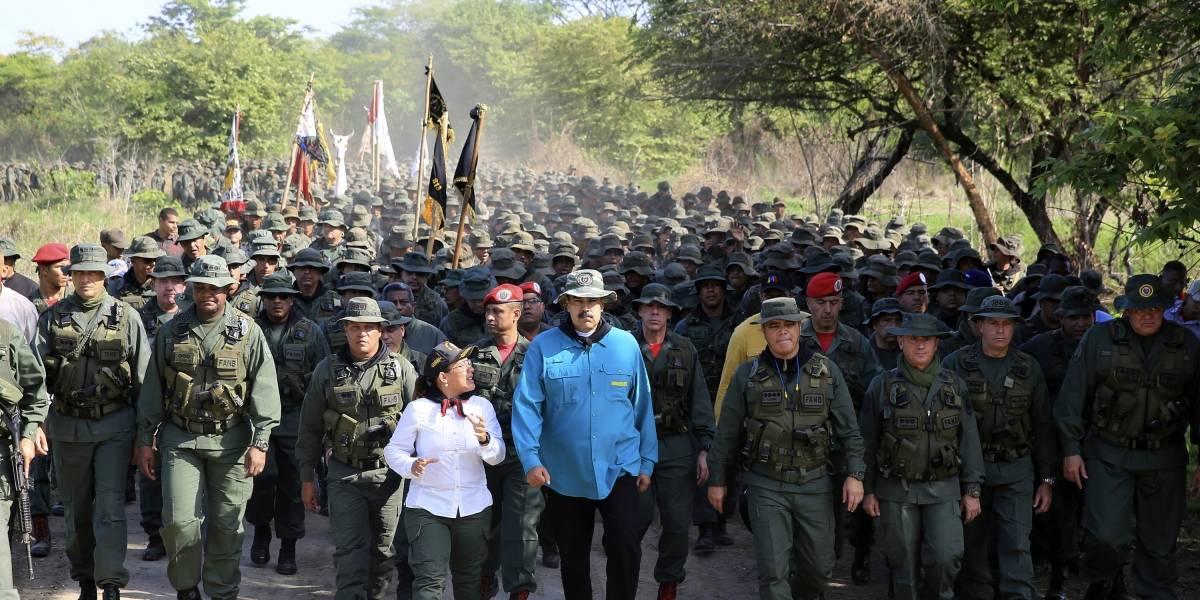 """Maduro pide a la Fuerza Armada venezolana estar """"más unida que nunca"""""""