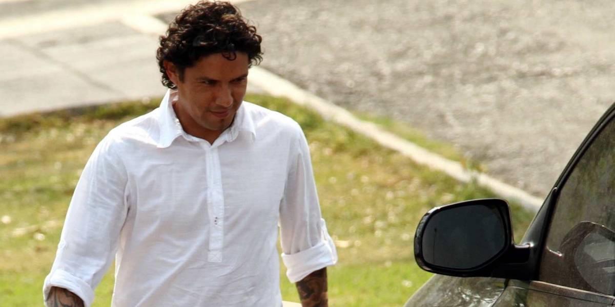 La imagen del 'Cabrito' Arellano antes de ingresar a la cárcel
