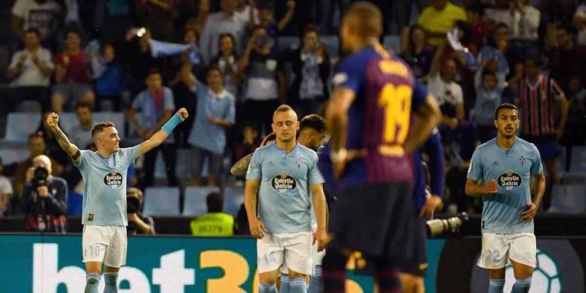 Barcelona tropieza ante Celta previo a partido en Champions