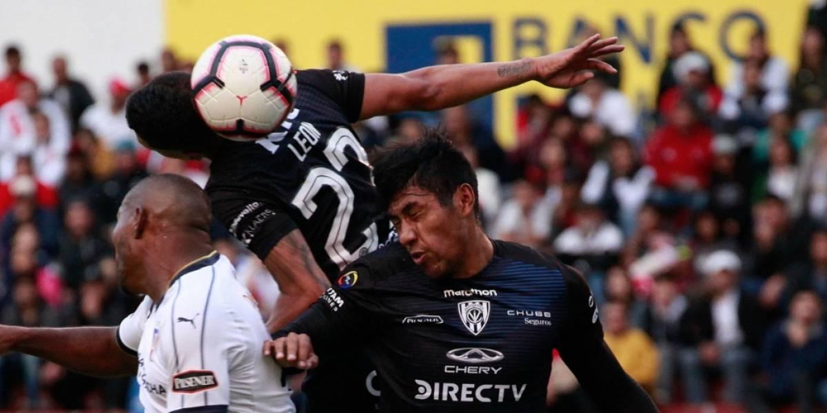 Liga de Quito vs Independiente del Valle quedó 1-1 y los 'Rayados del Valle' siguen punteros