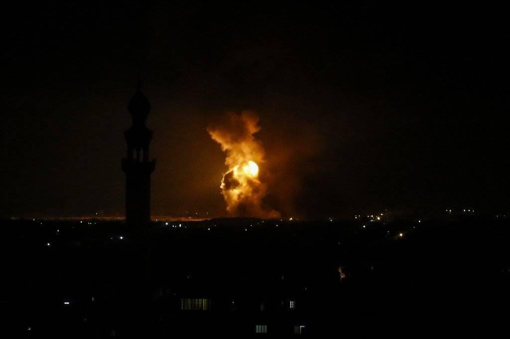 Cohetes lanzados desde Gaza AFP