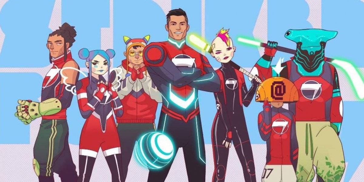 """Lanzan primer trailer de """"Striker Force 7"""" donde Cristiano Ronaldo es el protagonista"""