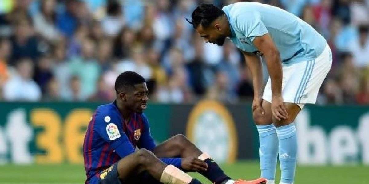 El Celta de Vigo y Barcelona deja la lesión de Dembélé