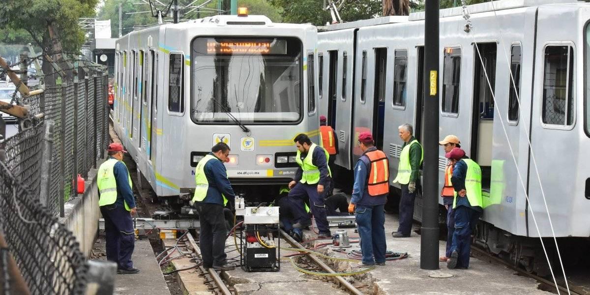 Cerrarán Tren Ligero de Tasqueña a Estadio Azteca por cambio de vías