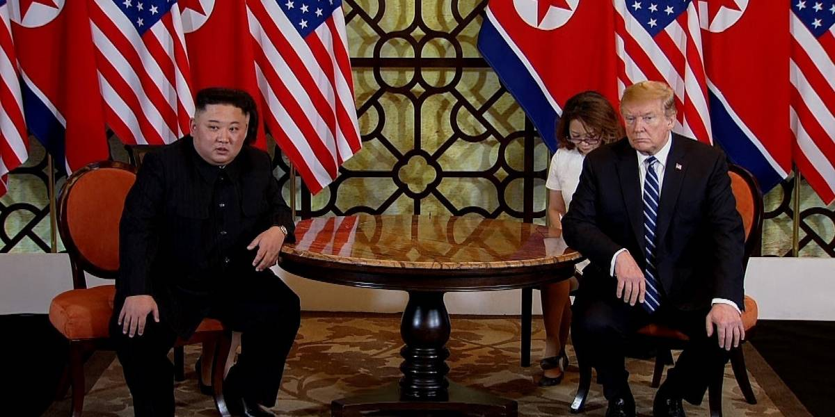 Trump resta importancia a que Corea del Norte lance misiles