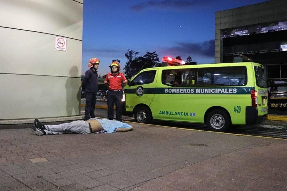 Supervisor de policía privada es detenido por homicidio. Foto: Bomberos Municipales