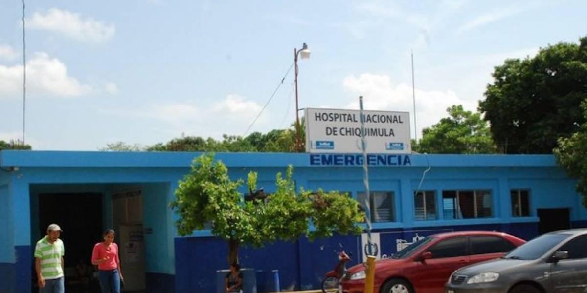 VIDEO. Denuncian techos defectuosos en el Hospital de Chiquimula