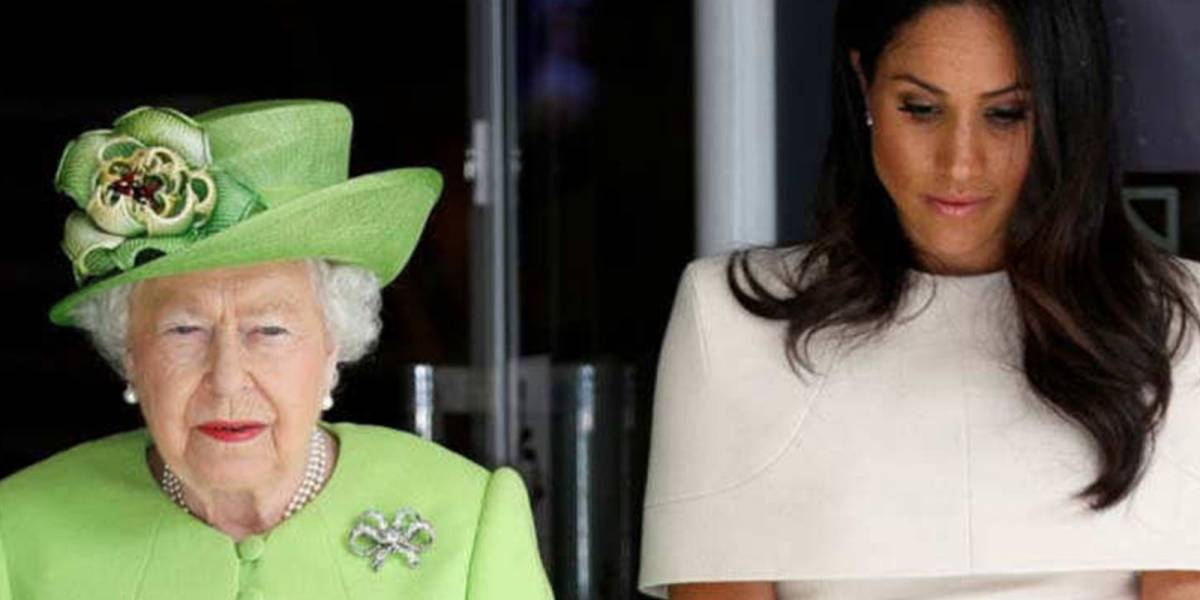 El regaño de la reina Isabel a Meghan Markle antes de la boda con el príncipe Harry que la hizo enfadar