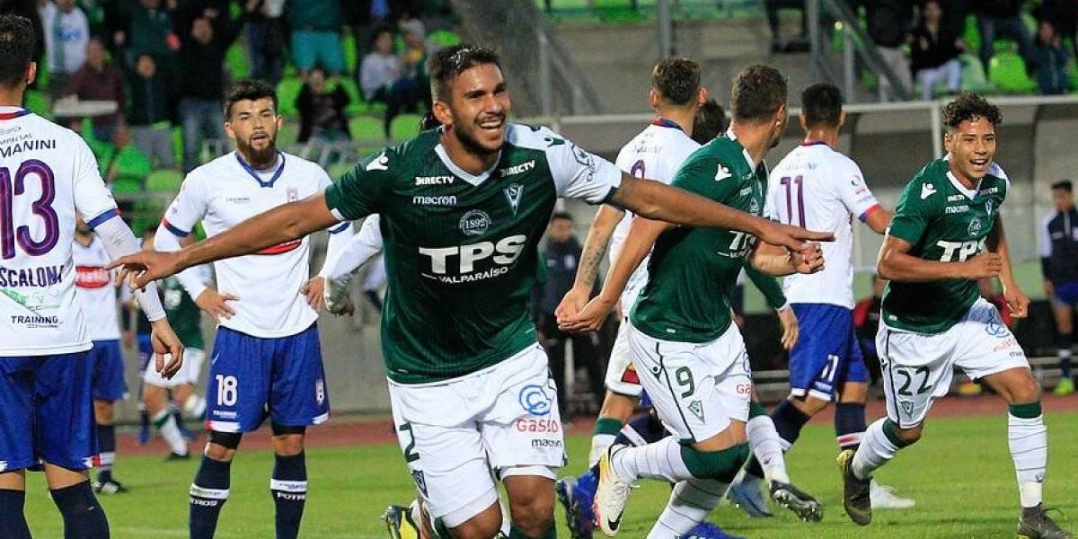 Santiago Wanderers logró agónico triunfo ante Melipilla y le pone presión a Cobreloa