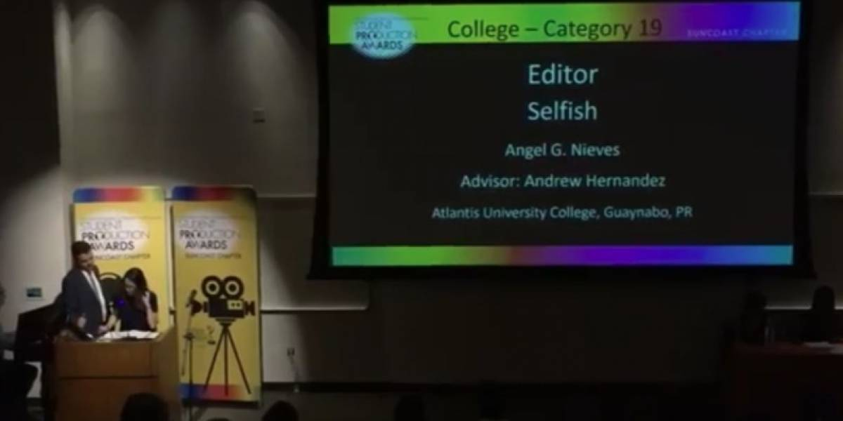 Estudiantes de Atlantic ganan siete Emmy